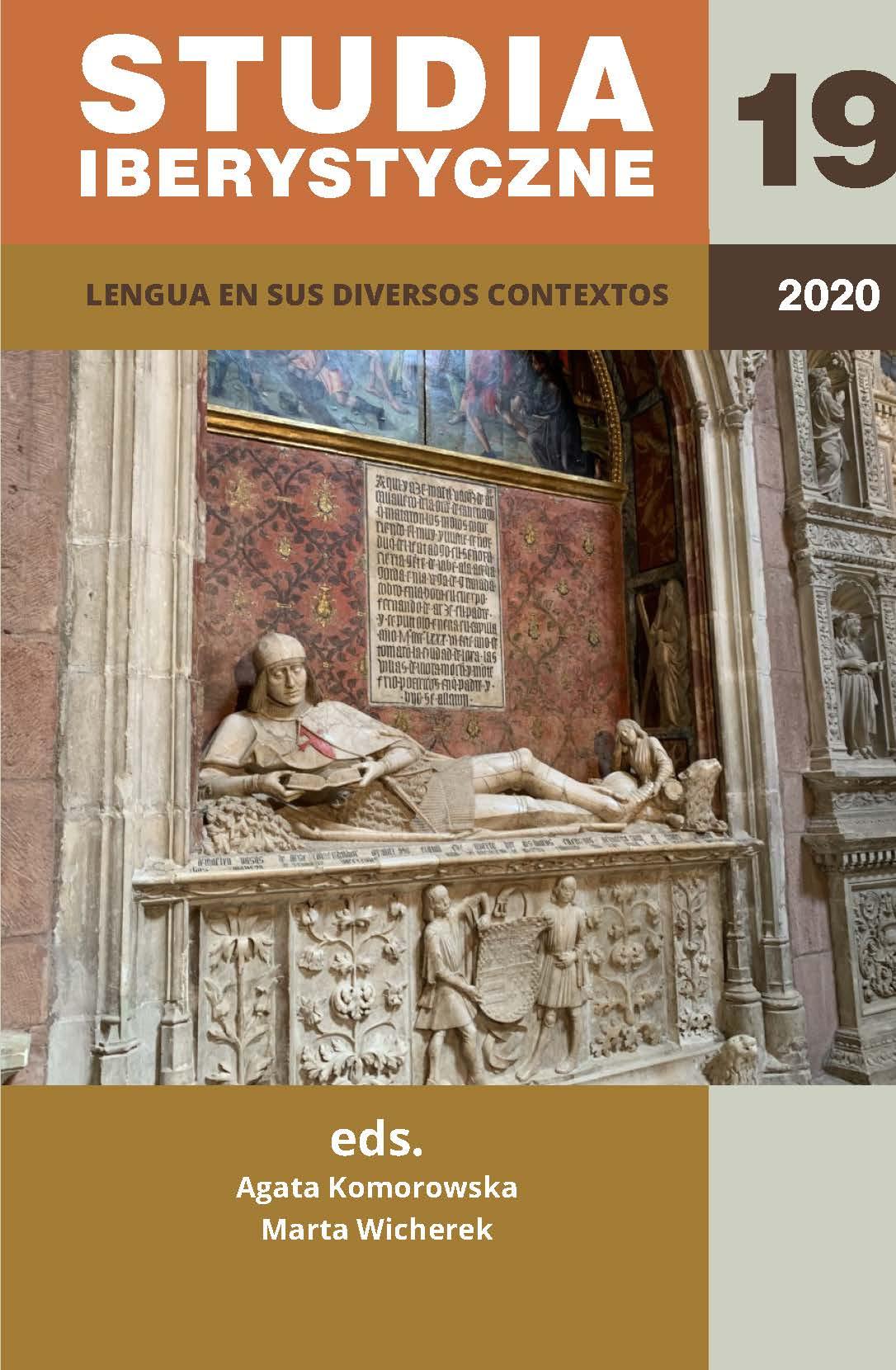 View Vol. 19 (2020): Lengua en sus diversos contextos