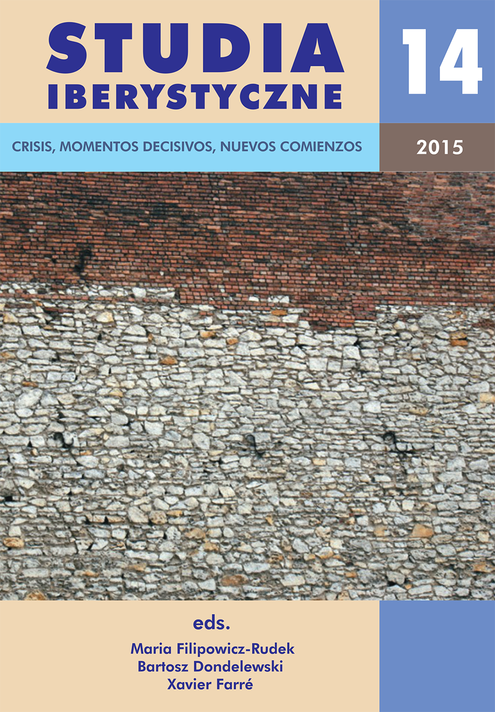 View Vol. 14 (2015): Crises, Turning Points, New Beginnings