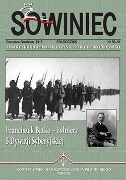 Pokaż  Tom 28 Nr 50-51 (2017): Franciszek Batko - żołnierz 5 Dywizji Syberyjskiej